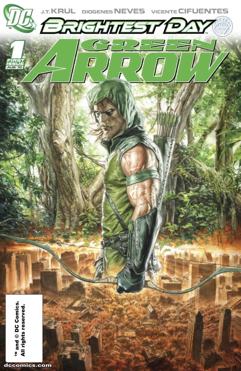 Green Arrows City Green Arrow 1