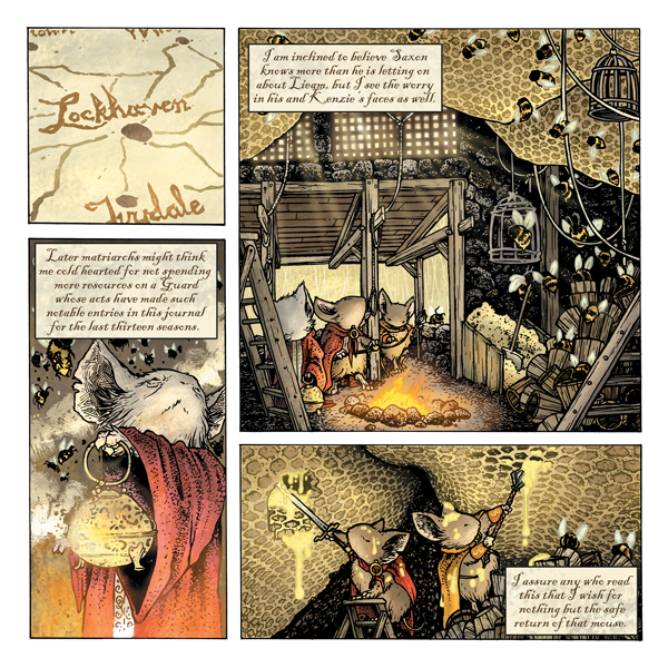 Mouse Guard Free Comic Book Day