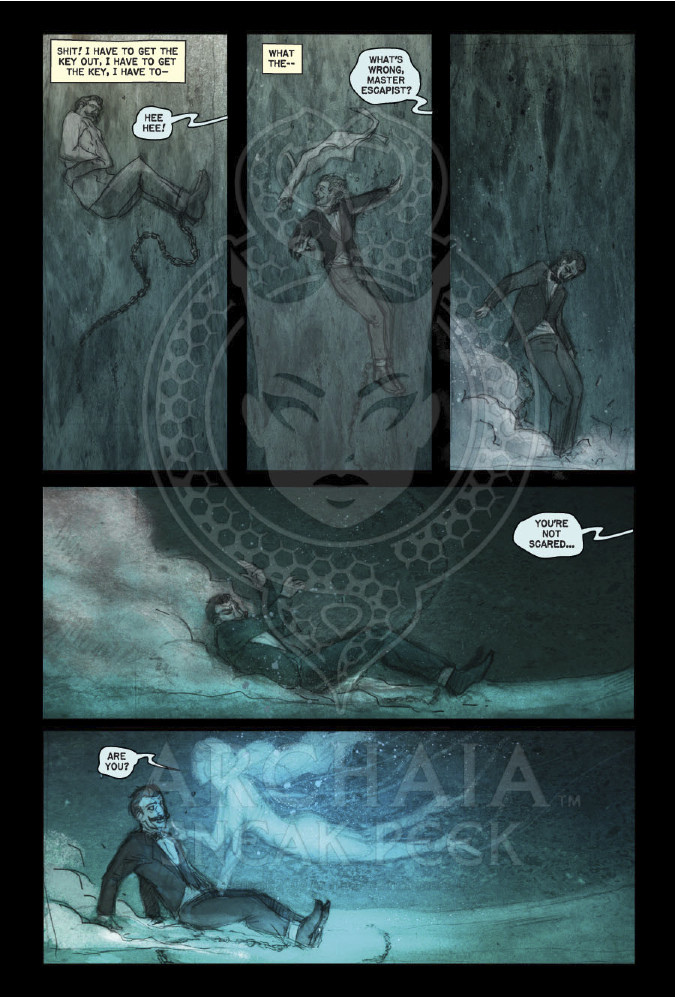 Archaia's Moon Lake: His Final Escape