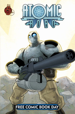 Atomic Robo and Friends