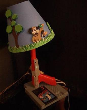 Nintendo Zapper Lamp