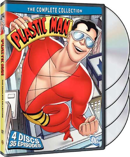 Plastic Man DVD