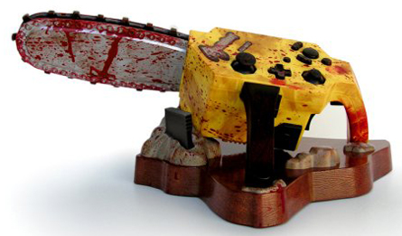 Resident Evil 4 GameCube Chainsaw Controller