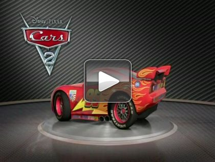 Cars 2 Turntable u2013 Lightning McQueen & Cars 2 Turntable - Lightning McQueen - ComingSoon.net