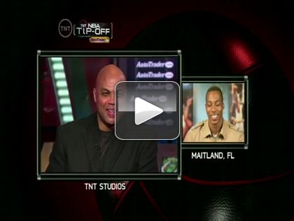 Dwight Howard Impersonates Charles Barkley on TNT