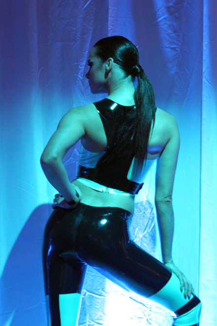 tron babe ass
