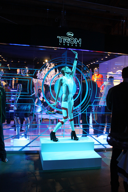 tron shop entrance