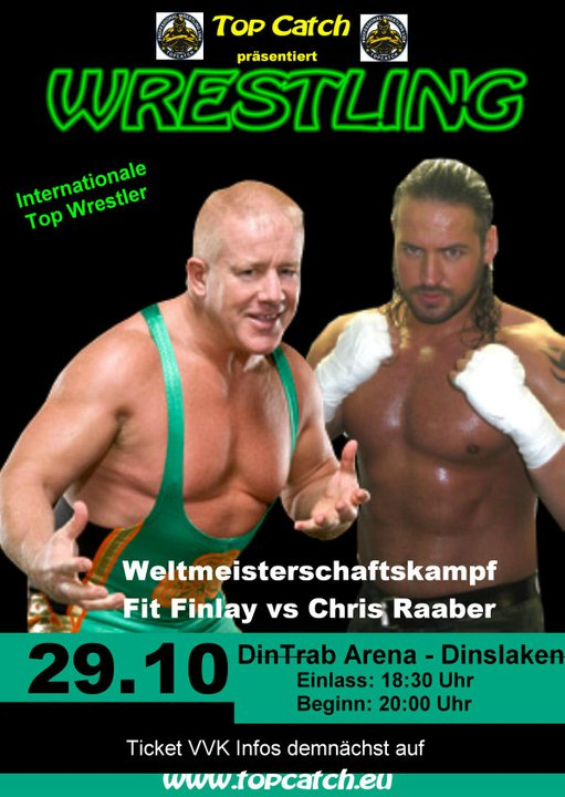 Former WWE Star/Producer Wrestling In Germany on 10/29