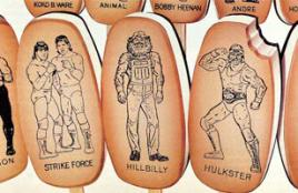 WWE Ice Cream Bars